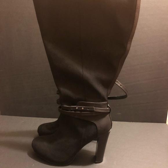 82f695c366f3 Torrid Black Suede Boots